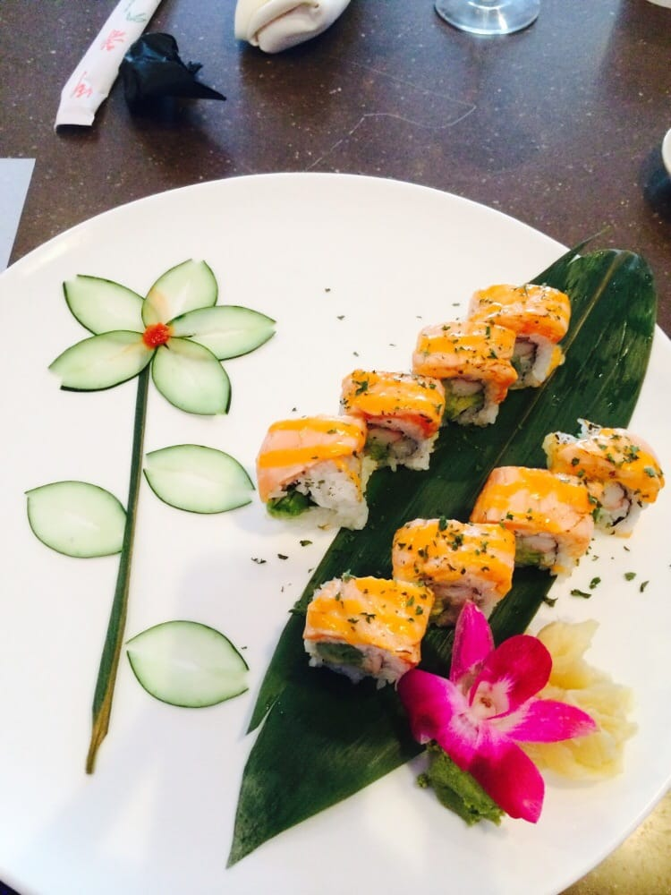 Baked alaskan yummy yelp for Asia sushi bar and asian cuisine mashpee
