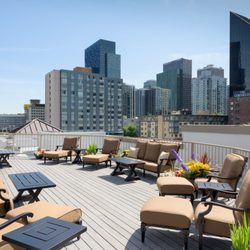 Photo Of Belltown Inn Seattle Wa United States Roof Deck