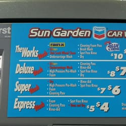 Chevron Touchless Car Wash Locations