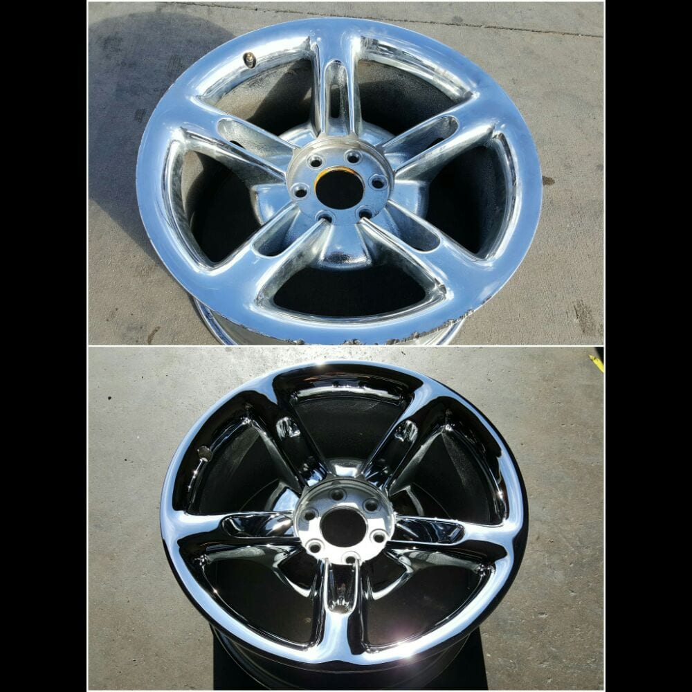 CHEVY HHR WHEELS - EXTREME RUST AND CORROSION REPAIRED AND