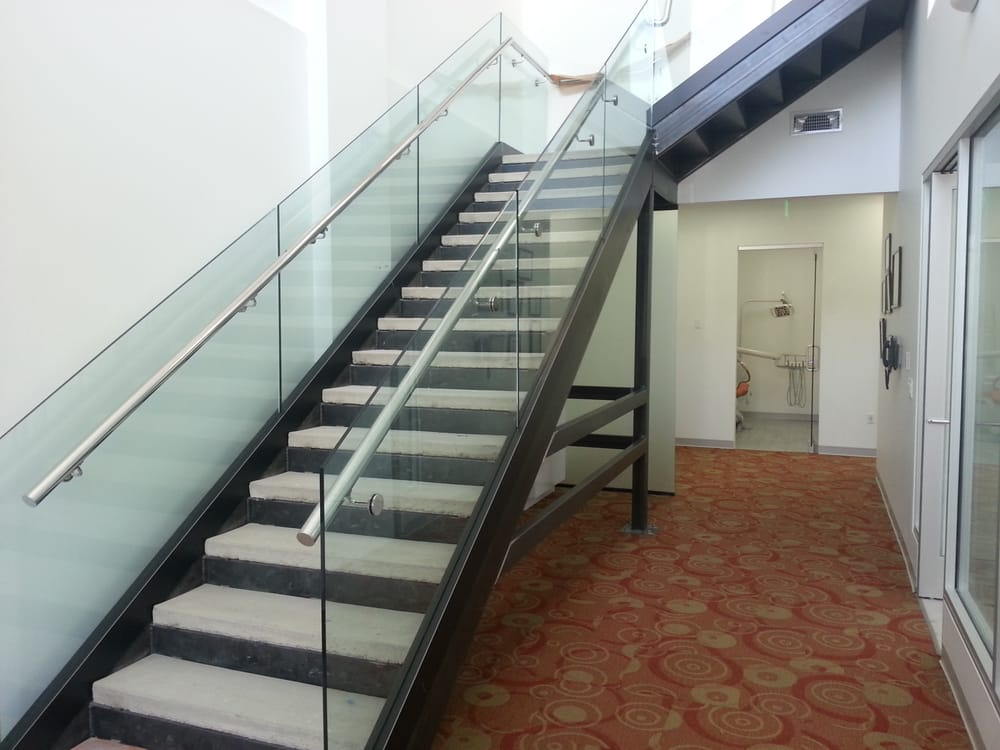 1 2 Quot Clear Glass Staircase Glass Railing System With