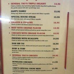 Happy Dragon Restaurant Menu Leonardtown Md