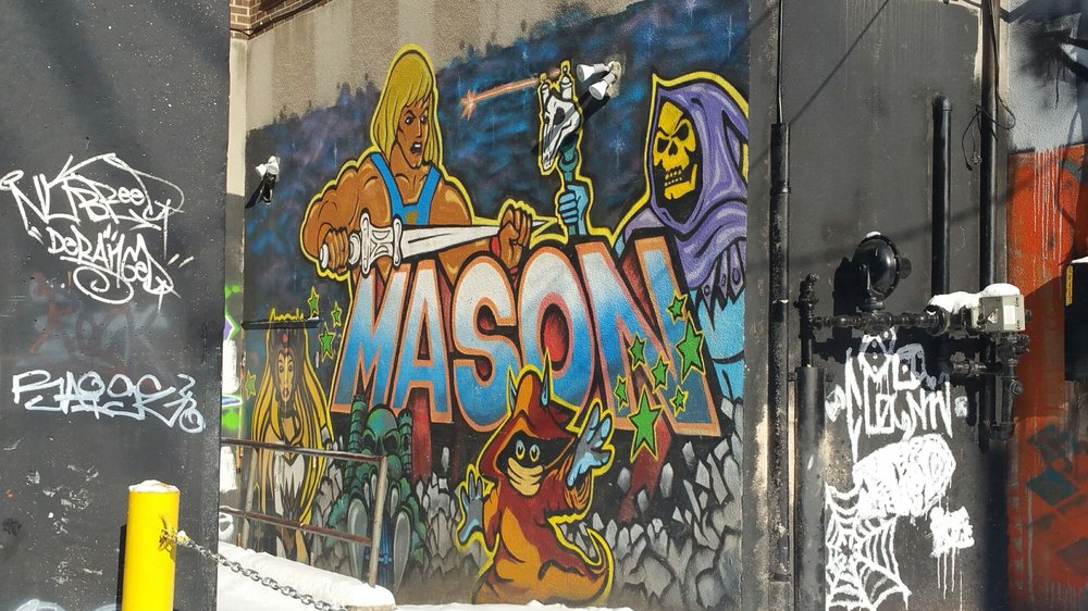 Edde's Graffiti Alley: 500 Wyandotte Street W, Windsor, ON