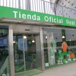 ad491c40bec4b Tienda Oficial del Betis - Ropa deportiva - Estadio Benito ...