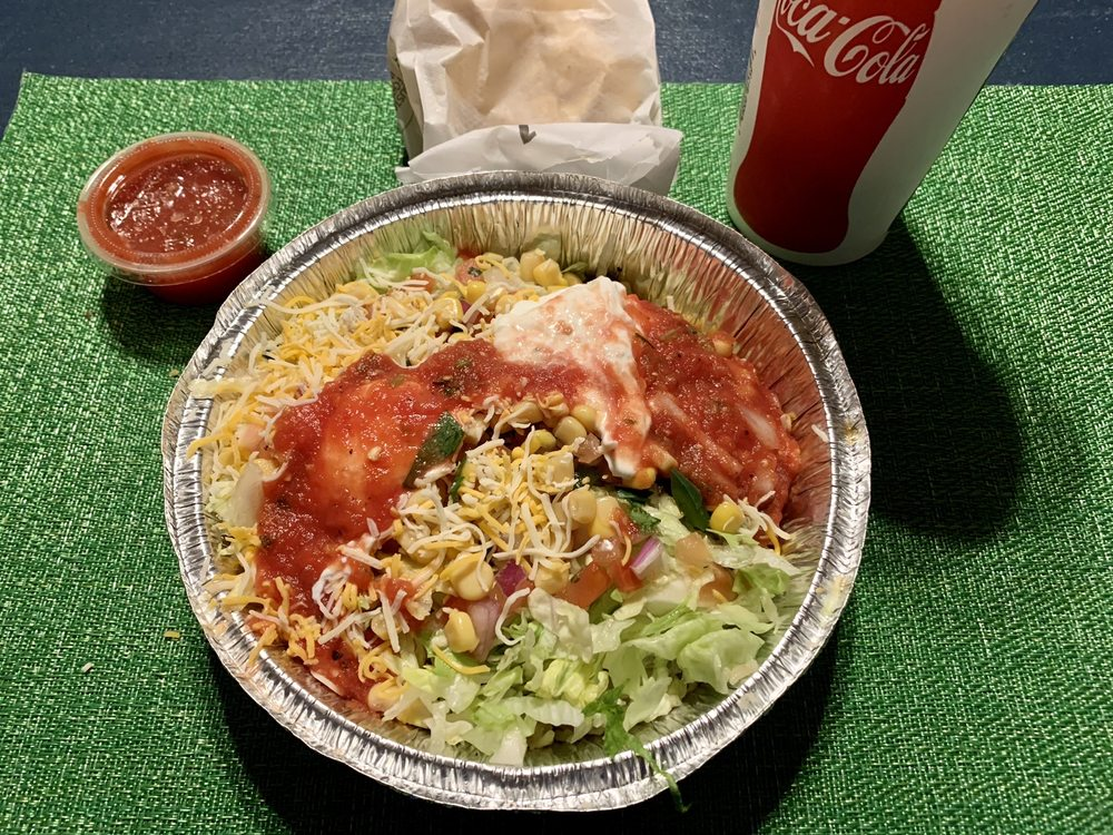 Food from Adobos Mexican Grill