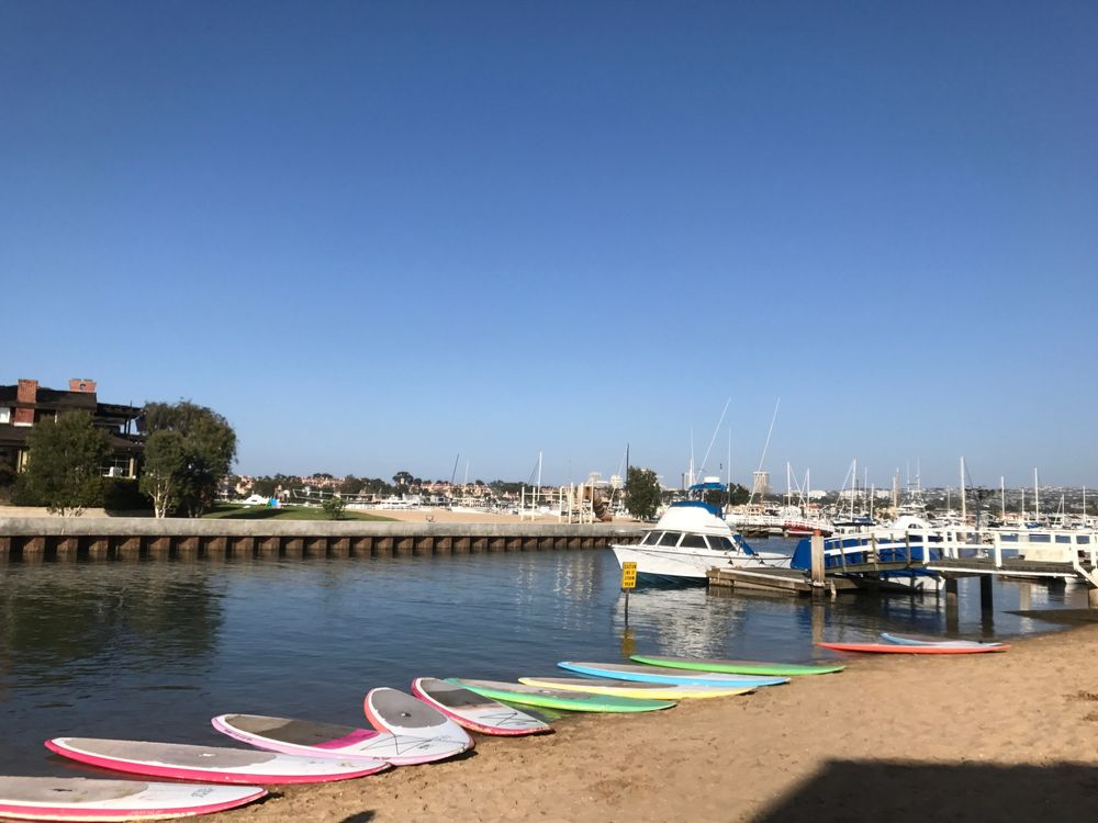 Tabla de paddle surf Newport Beach