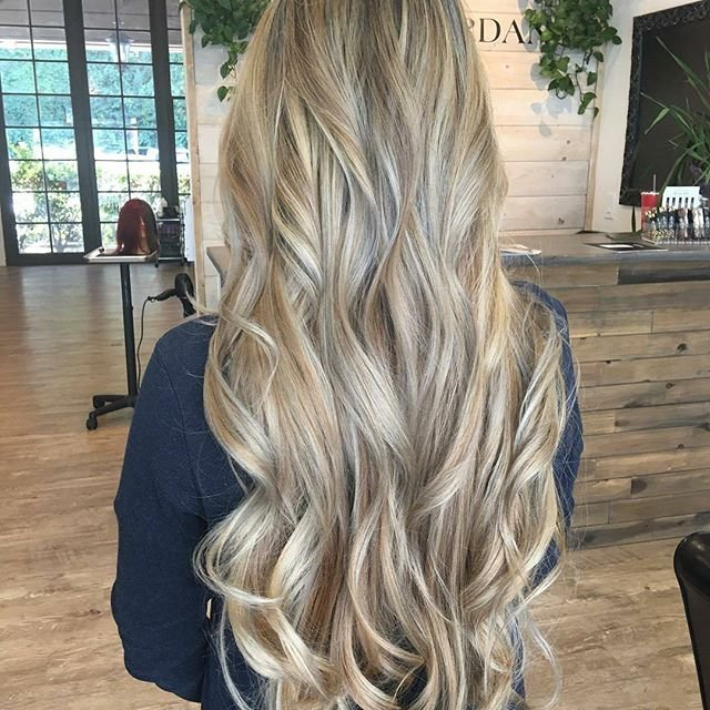 Gorgeous Locks Full Head Highlights And Extension Service Yelp