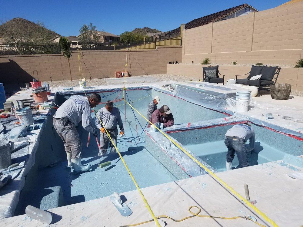 Soto & Sons Pool Plastering: 8219 W Leyva Ln, Peoria, AZ