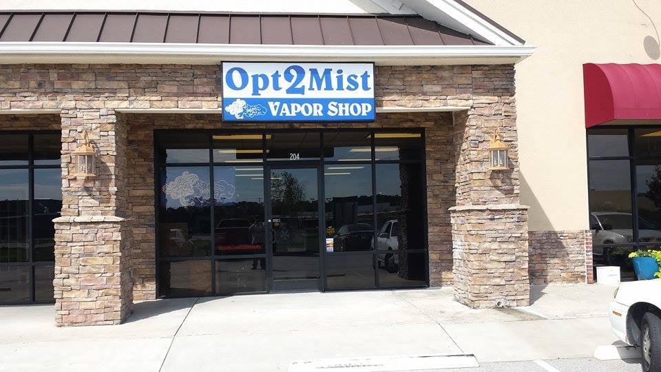 Opt2Mist Vapor Shop: 700 Business Hwy 441, Cornelia, GA
