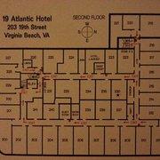Photo Of 19 Atlantic Hotel Virginia Beach Va United States Room