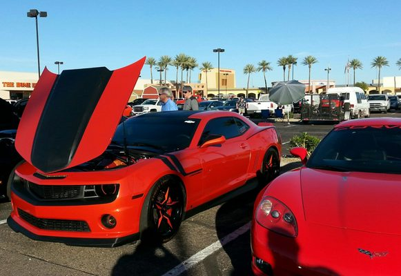 Scottsdale Pavilions E Indian Bend Rd Scottsdale AZ Gas - Pavilions at talking stick car show