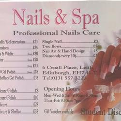 Nails spa 20 photos spa 6 croall place leith edinburgh photo of nails spa edinburgh united kingdom price list prinsesfo Choice Image