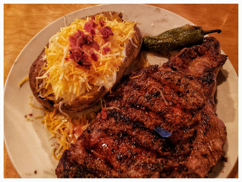 The Flame Steakhouse: 14424 US Hwy 34, Fort Morgan, CO