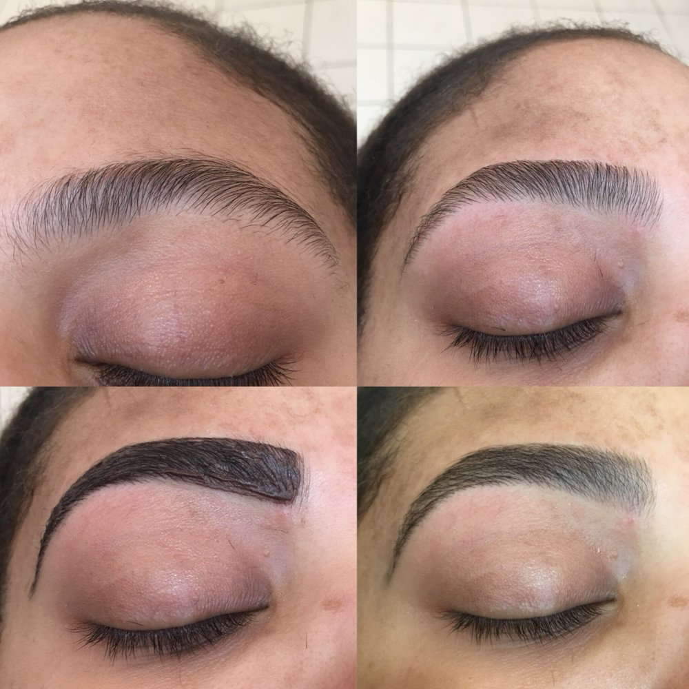 Eyebrow Threading And Tint Whole Process Achieve Gorgeous