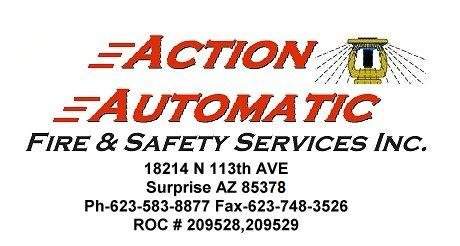 Action Automatic Fire Sprinklers & Safety Services