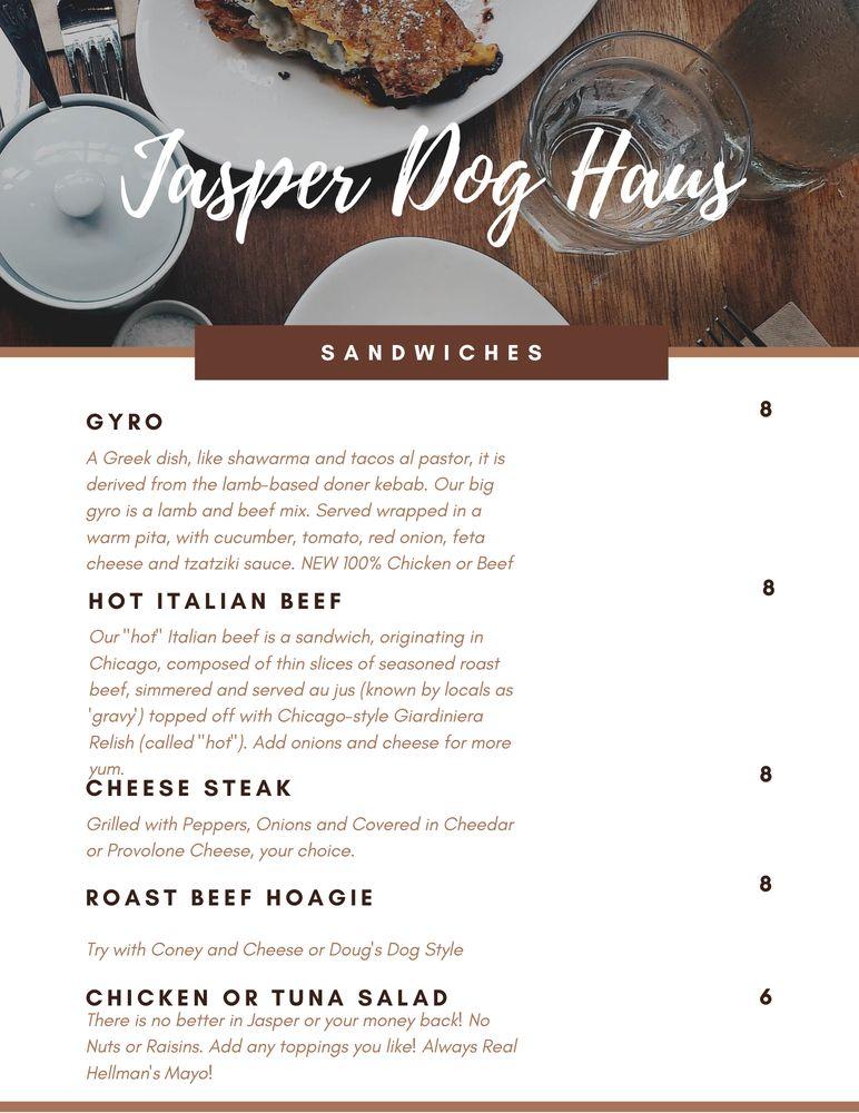 Dog Haus: 155 2nd Street, Jasper, IN