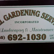 Full Gardening Services