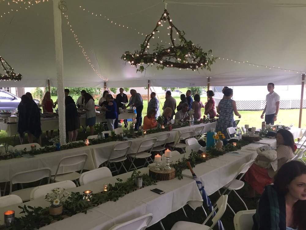 Aaron Cline's Tent Rental: 5520 State Route 19 N, Belmont, NY