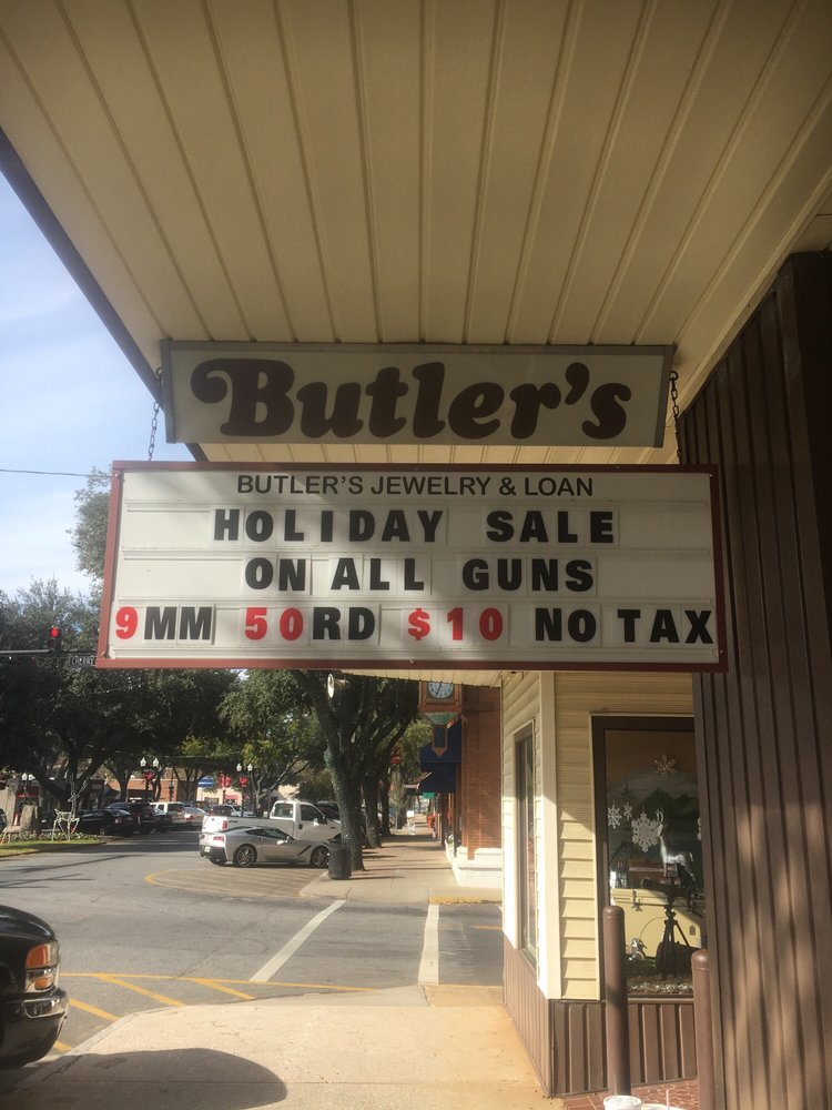 Butler's Jewelry & Loan: 101 E Main St, Forest City, NC