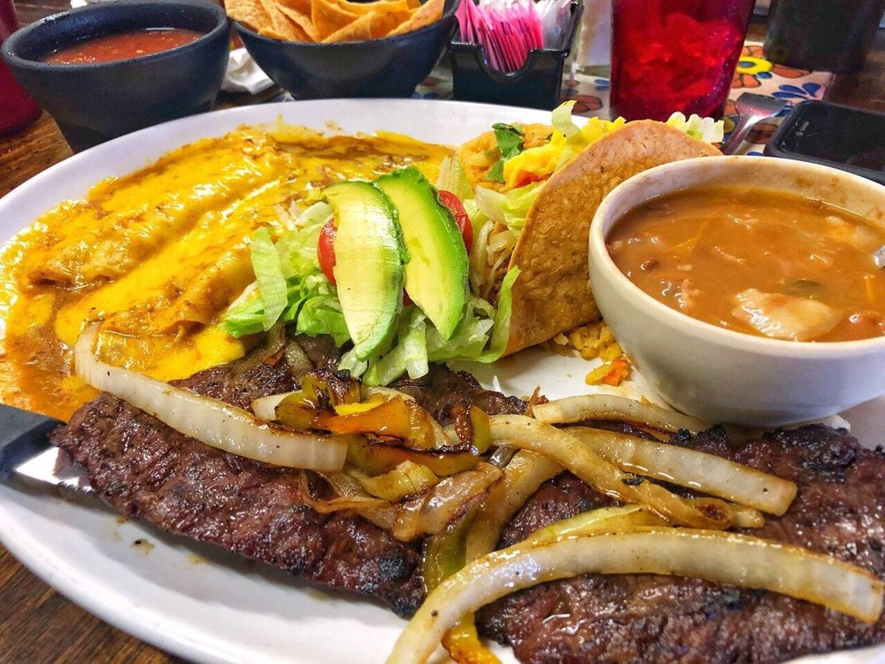 Photo Of La Frontera Mexican Restaurant Brownsville Tx United States Tampiquena Was