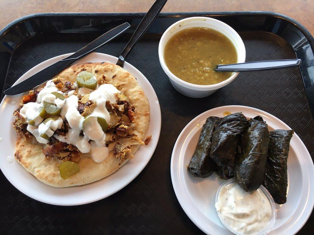 Food from Jamrah Restaurant