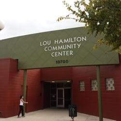 Lou Hamilton Community Center logo