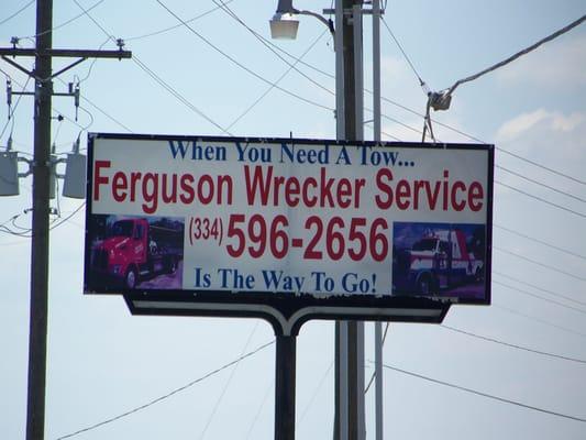 Ferguson Wrecker Service 642 Old Hwy 431 N Headland AL Towing
