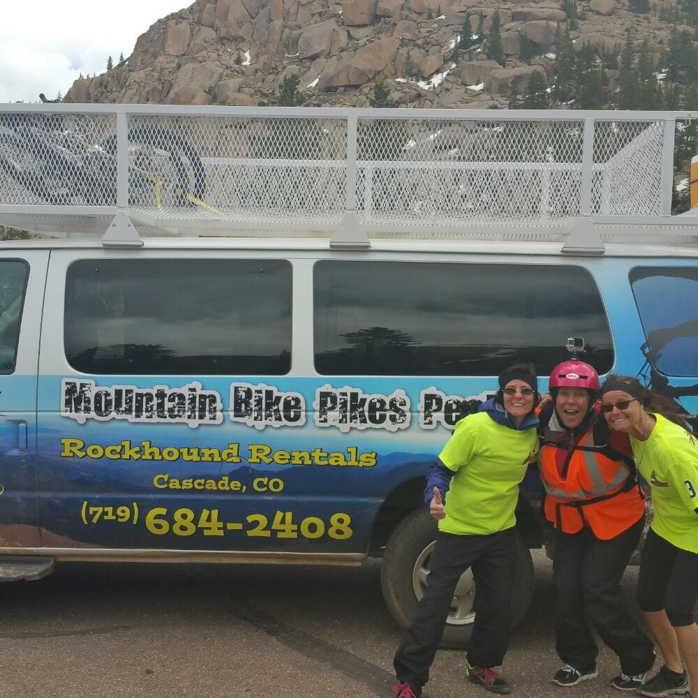 Mountain Bike Pikes Peak