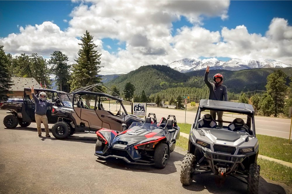 Great Outdoors Adventures: 19251 E US24, Woodland Park, CO