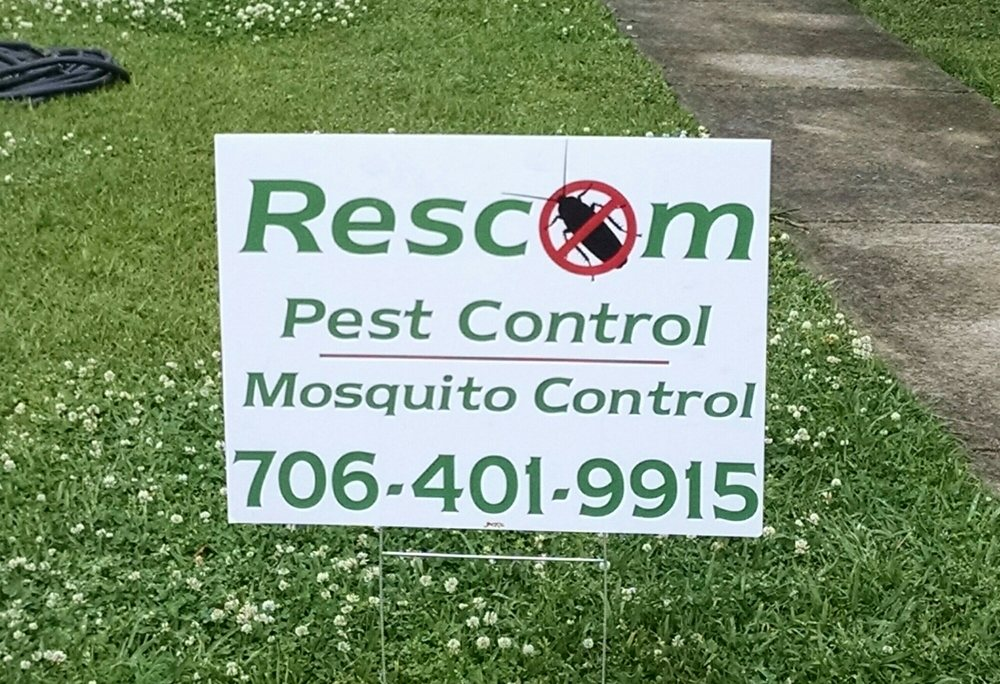 Rescom Services Pest Control: Washington, GA
