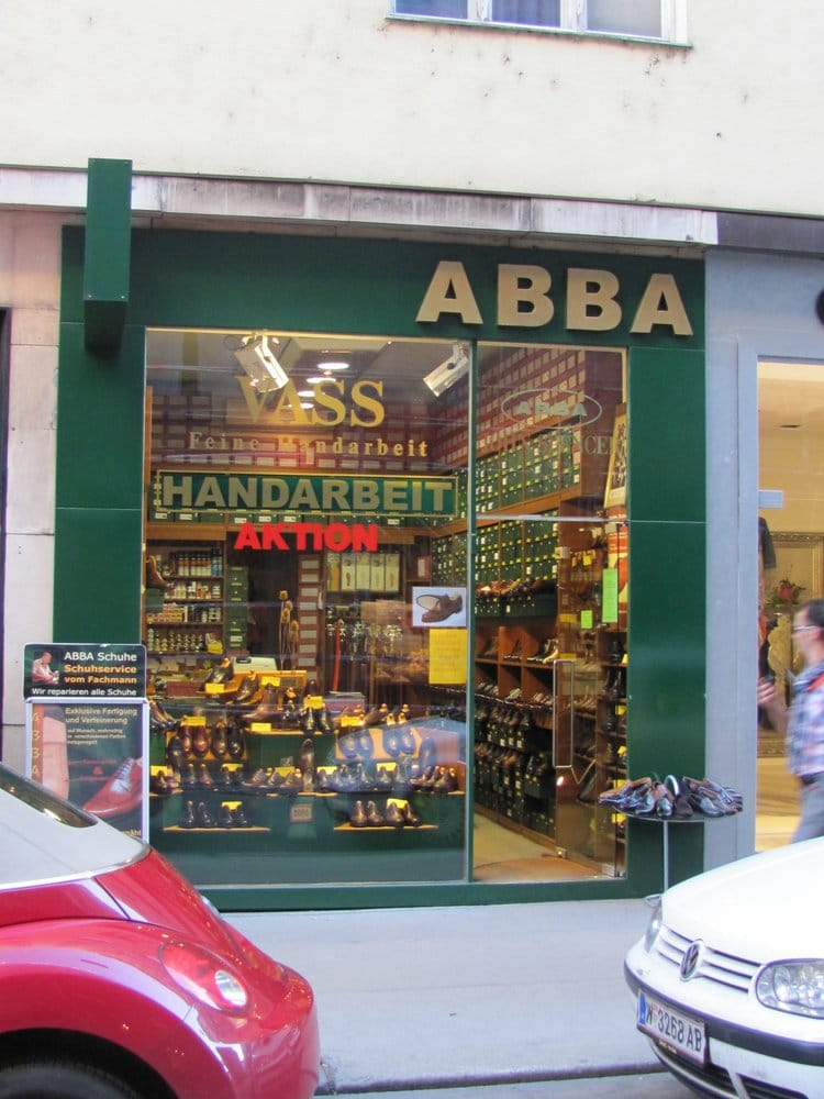 sneakers for cheap 93f7f 2c522 ABBA Schuhe - Shoe Stores - Wollzeile 12, Innere Stadt ...