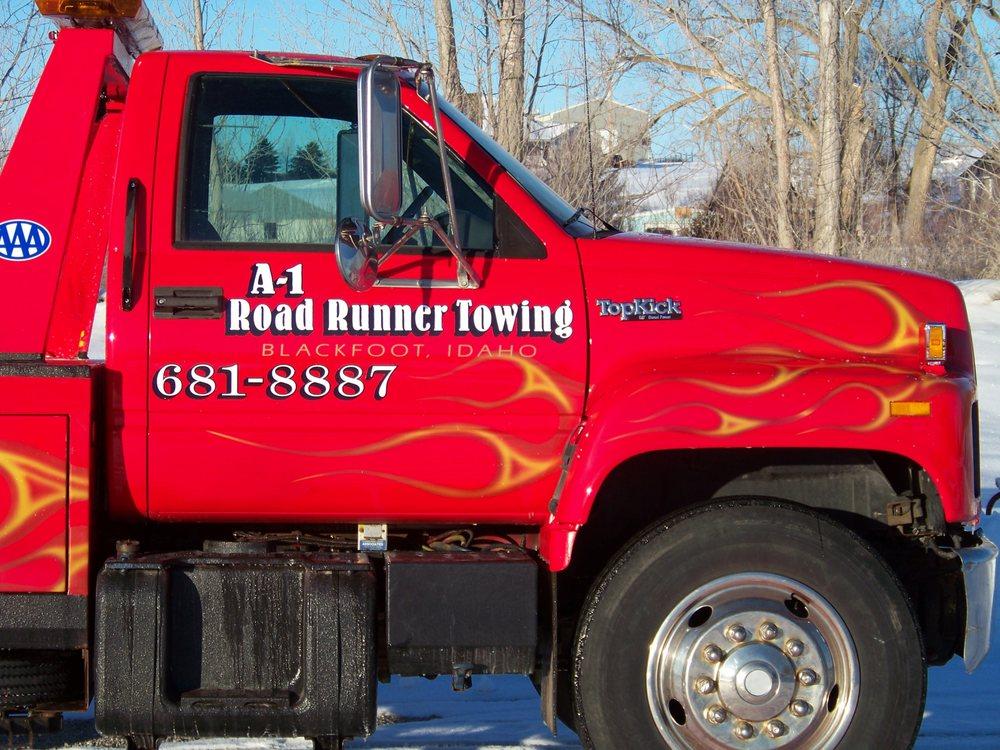 A1 Road Runner Towing: Blackfoot, ID