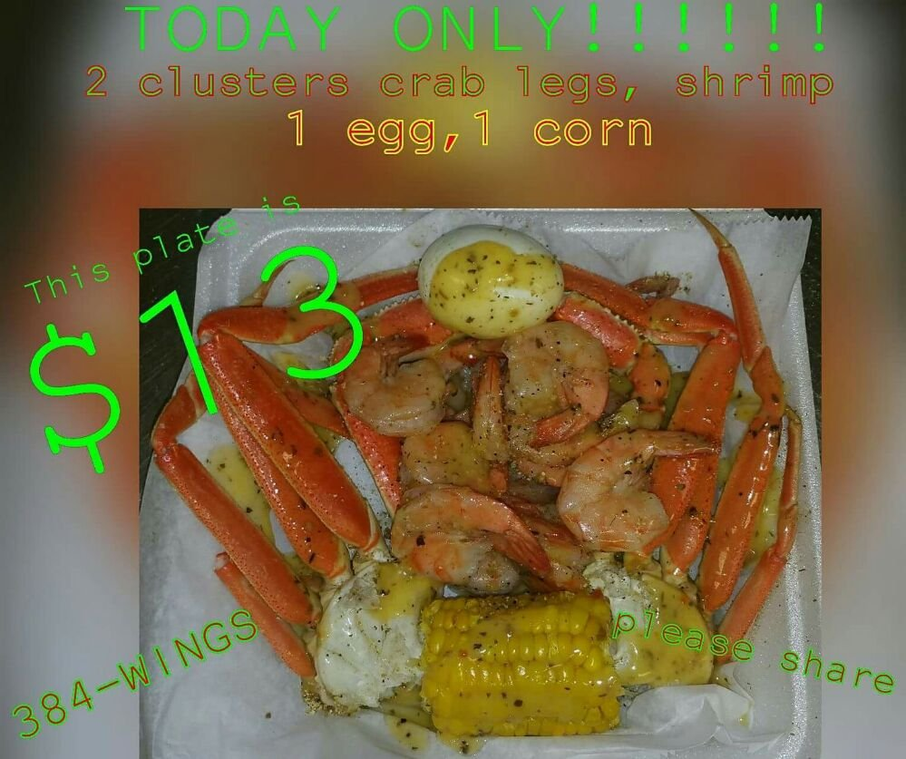 Curry's WINGS & Things: 802 S Peterson Ave, Douglas, GA