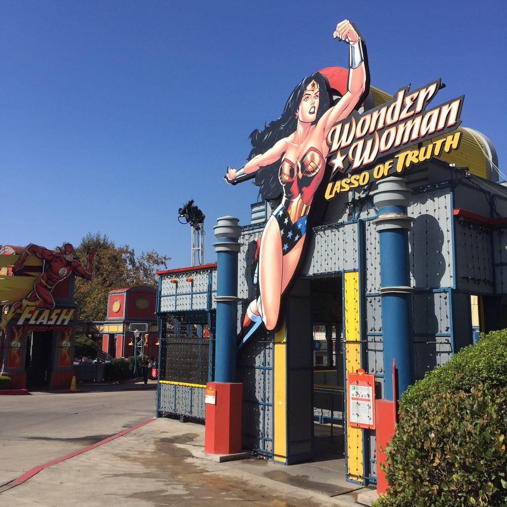Wonder Woman Lasso of Truth: 26101 Magic Mountain Pkwy, Valencia, CA