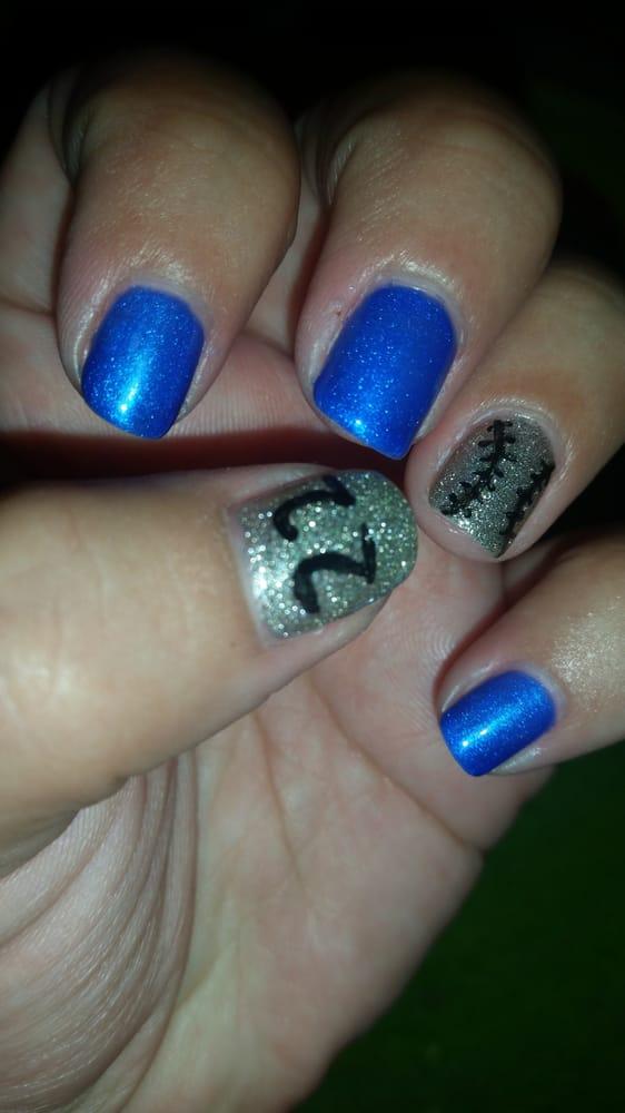 Dodger nails for Dodger vs. Giants! Go Dodgers! Think Blue. - Yelp