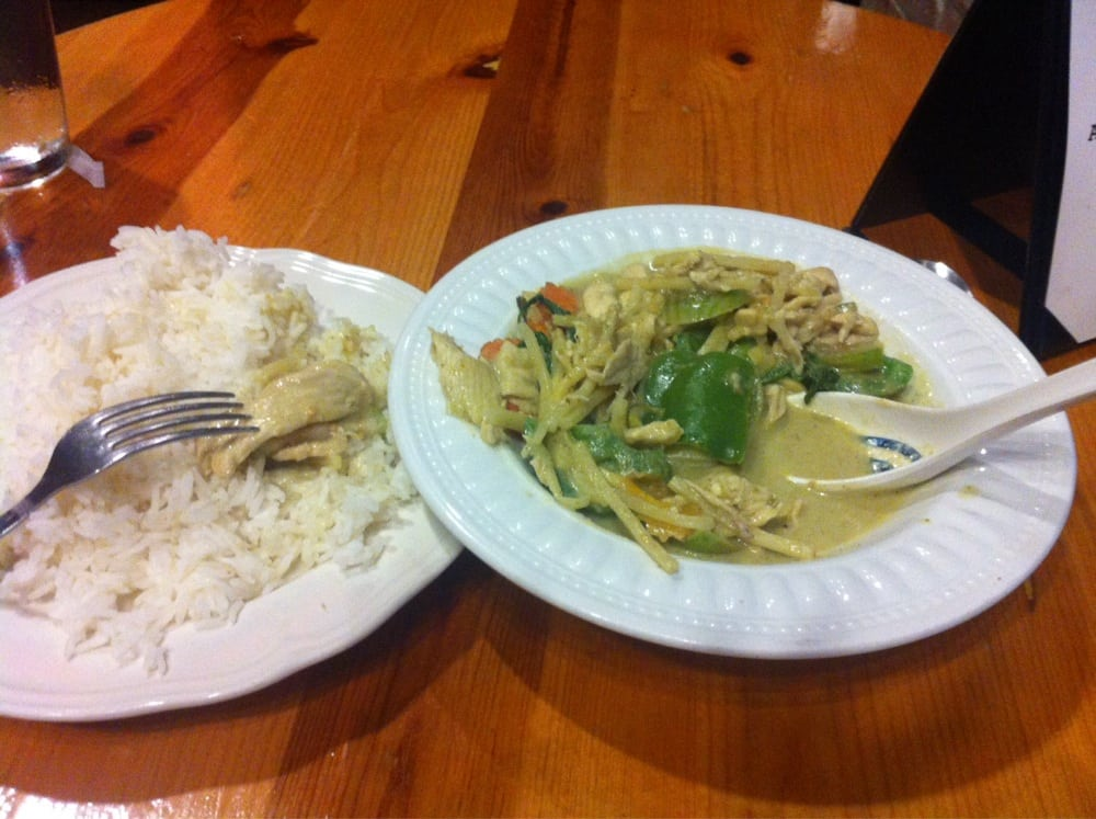 Green curry with jasmine rice sooooooo good yelp for 22 thai cuisine yelp