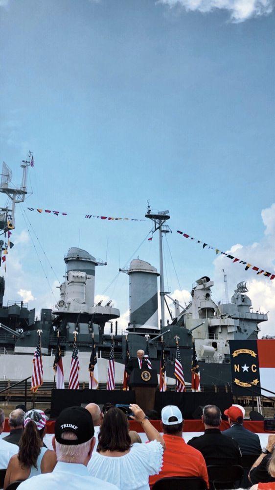 Social Spots from Battleship North Carolina