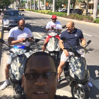 Photo Of Scooters South Beach Miami Fl United States Wild Hogs