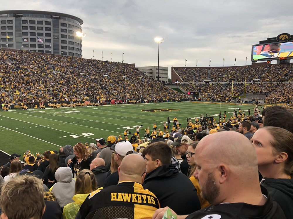 Social Spots from Kinnick Stadium