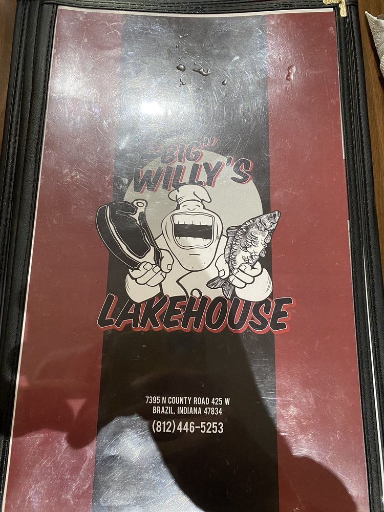 Food from Big Willy's Lakehouse