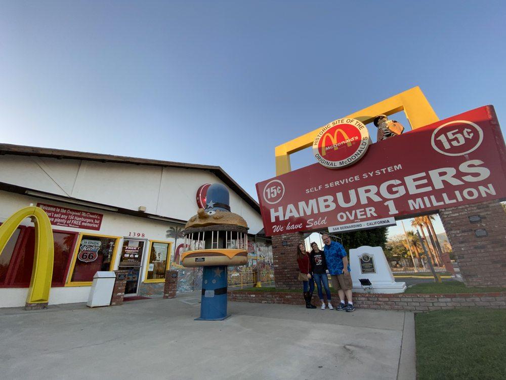 Juan Pollo McDonalds Museum: 1398 N E St, San Bernardino, CA