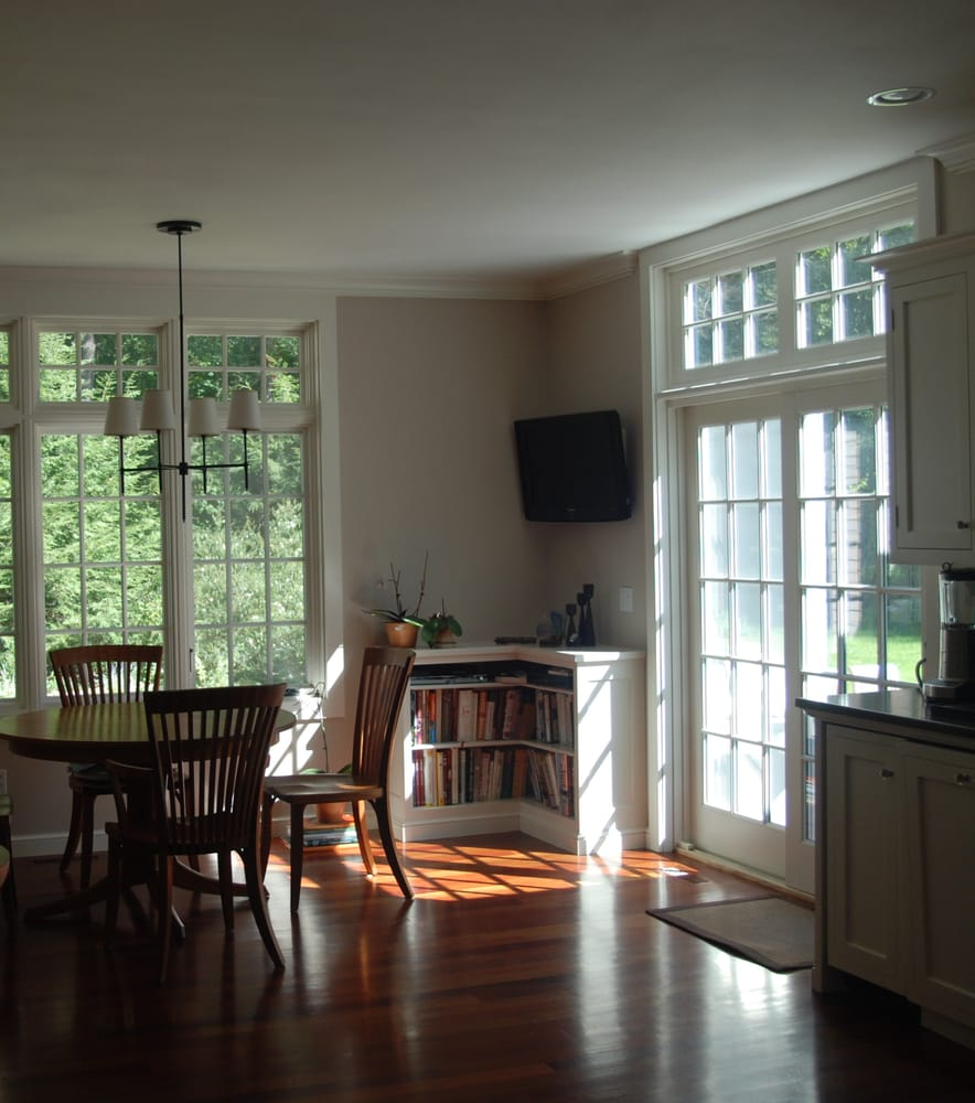 French doors floor to ceiling windows show off both the - What are floor to ceiling windows called ...