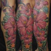 f88473b56513c ... Photo of Garnet Tattoo - San Diego, CA, United States. Hibiscus Tattoo  ...
