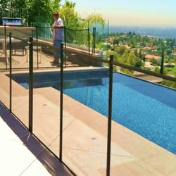 Glass Pool Fence safeguard mesh & glass pool fence company - 104 photos - fences