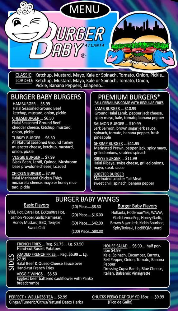 Burger Baby Atlanta: 6009 Memorial Dr, Stone Mountain, GA