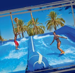 Flowrider Swimming Pools 3667 Las Vegas Boulevard South The Strip Las Vegas Nv United