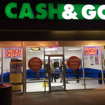Cash & Go - Check Cashing/Pay-day Loans - 1235 NW 185th Ave