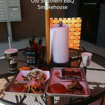 Photo Of Old Southern Bbq Smokehouse Rice Lake Wi United States Pulled