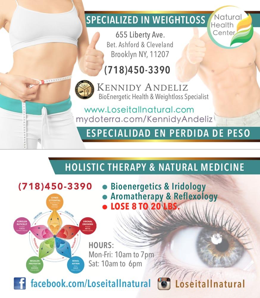Business Card Of Natural Health Center Holistichealth Weightloss