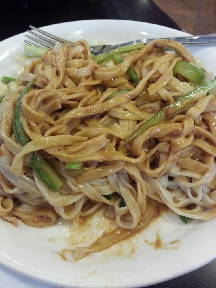 Cold noodles with peanut sauce - Yelp